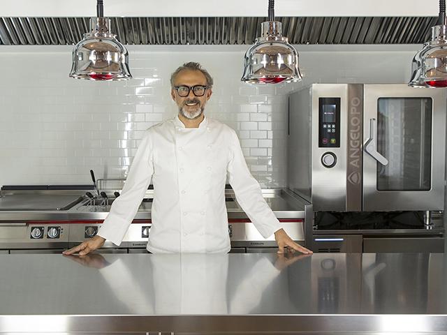 Chef Bottura sceglie Angelo Po