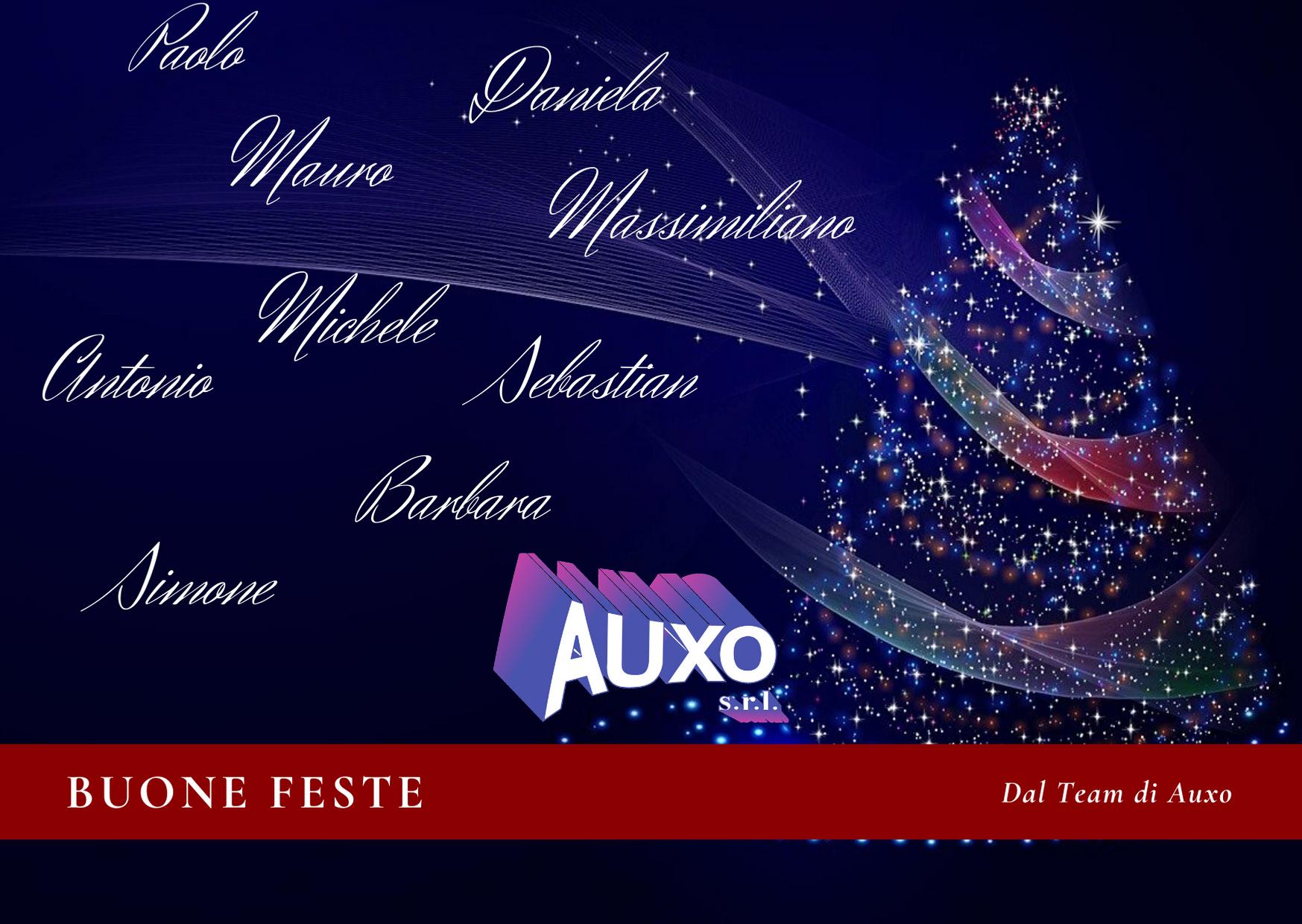 I migliori auguri dal Team di Auxo